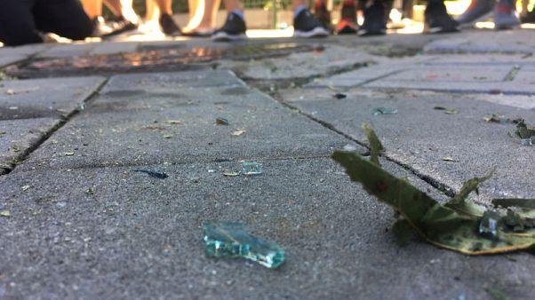 الشرطة الصينية: قطعة ألعاب نارية انفجرت أمام سفارة واشنطن في بكين