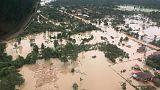 استمرار جهود البحث عن ناجين بعد 3 أيام من انهيار سد في لاوس
