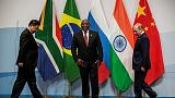 Russia's Putin raises nuclear deal at Ramaphosa meeting during BRICS