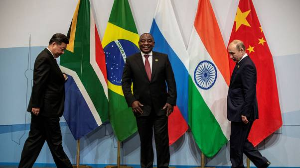 Russia's Putin raises nuclear deal at Ramaphosa meeting during BRICS