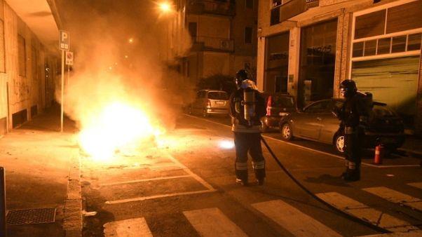 Incendi dolosi nel Milanese, no feriti