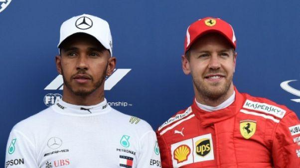 GP de Hongrie: Vettel-Hamilton, dernier duel avant la trêve