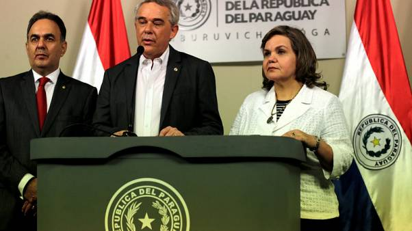 Survivors unlikely in fallen plane carrying Paraguay minister - official