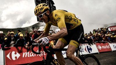 Tour de France: le maillot jaune Geraint Thomas se plaint d'un spectateur