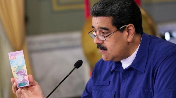 فنزويلا تنوي إلغاء 5 أصفار من عملتها المتدهورة