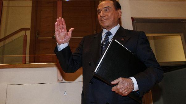 Berlusconi,M5s non in grado di governare