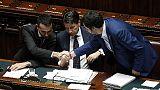 Vertice Conte-Di Maio-Salvini a Chigi