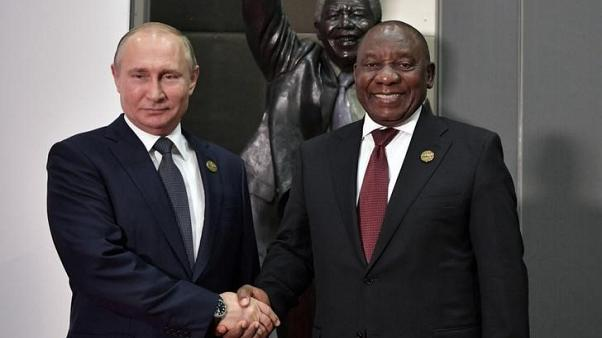 Ramaphosa to Putin - weak economy means South Africa can't sign nuclear deal yet