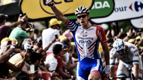"""Tour de France: """"Un sprint parfait"""", juge Démare"""