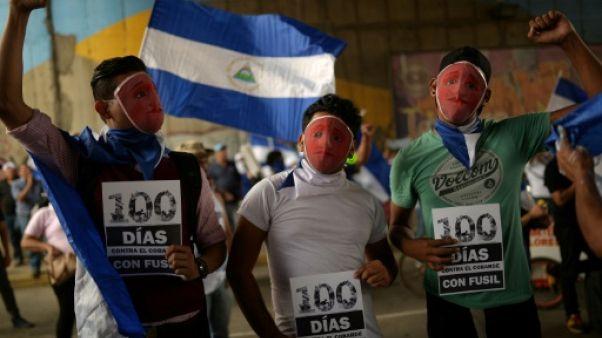 Nicaragua: les étudiants commémorent 100 jours de révolte face à Ortega