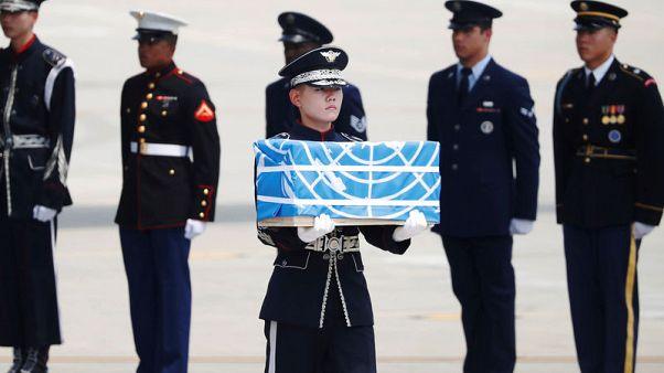 ترامب يشكر كوريا الشمالية لنقل رفات جنود أمريكيين