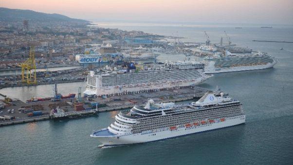 Crociere, 9mila passeggeri a Livorno