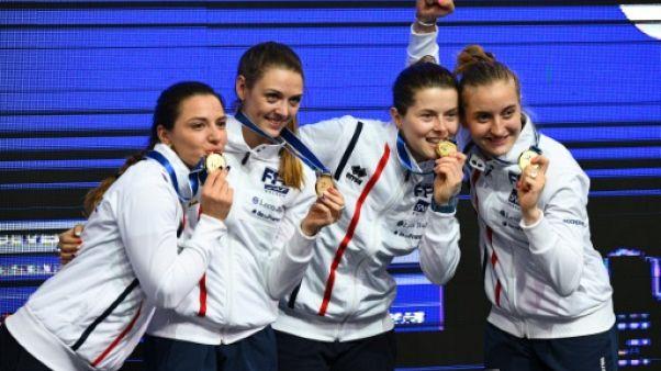 Escrime: les Françaises sacrées championnes du monde en sabre par équipes
