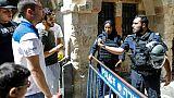 Jérusalem: Israël ferme les accès à l'esplanade des Mosquées après des heurts