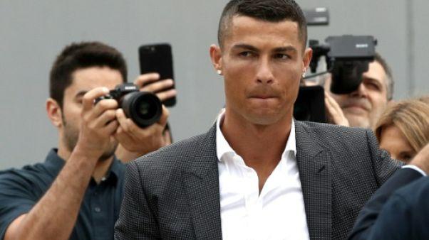 Cristiano Ronaldo à Turin le 16 juillet 2018