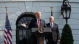 """Trump est """"ouvert"""" à une visite à Moscou"""