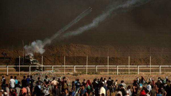 Deux Palestiniens tués par l'armée israélienne lors d'affrontements à Gaza (ministère)