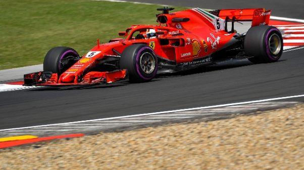 F1: Vettel, la Ferrari va bene