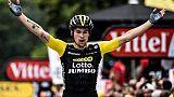 Tour de France: Roglic sort Froome du podium