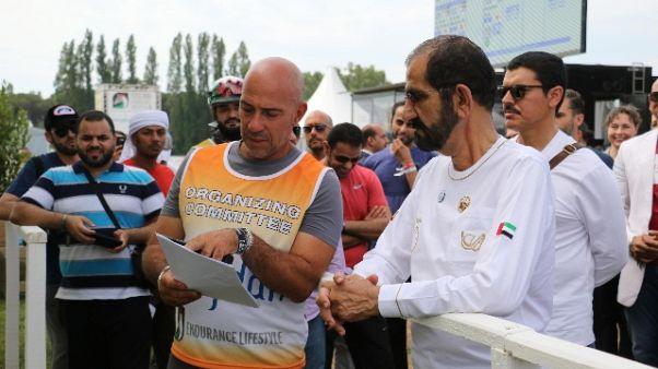 Podio emiratino al Toscana Endurance2018