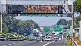 Esodo: traffico intenso, rallentamenti