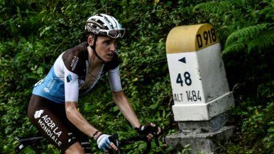Tour de France: le baroud d'honneur infructueux de Romain Bardet