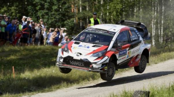 Rallye de Finlande: Tänak en tête, Ogier a mis Neuville à distance