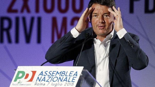 Renzi:guida Rai a chi rilancia fake news