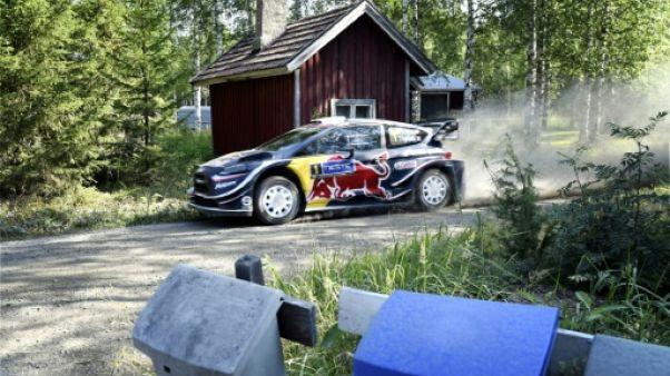 Rallye de Finlande: Ogier a distancé Neuville mais doit viser plus haut