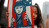 Familles séparées: un juge américain demande de retrouver les parents expulsés
