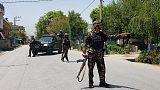 Blasts, gunshots reported in eastern Afghan city