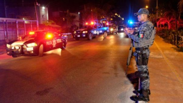 Mexique: au moins cinq morts dans une fusillade près de Cancun