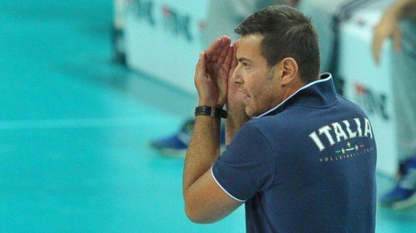 Volley: da lunedì azzurri in ritiro