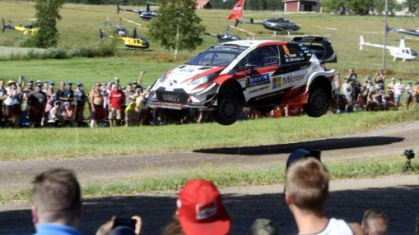 Rallye de Finlande: Tänak accroît son avance, Ogier 7e mais toujours devant Neuville