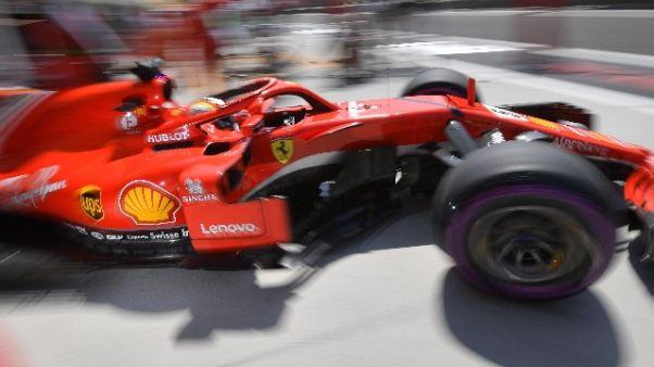F1: Ungheria, terze libere a Vettel