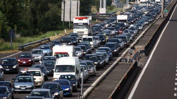 Traffico e code in ultimo weekend luglio