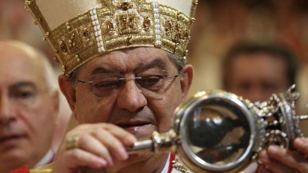 Napoli, domani messa con cardinal Sepe