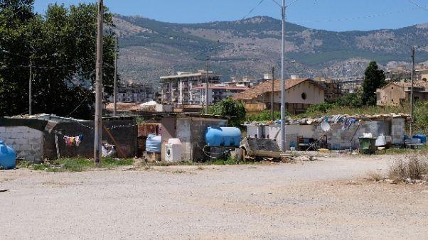 Ordinanza sgombero campo rom Palermo