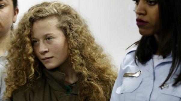 Icône de la cause palestinienne, une adolescente s'apprête à sortir de prison