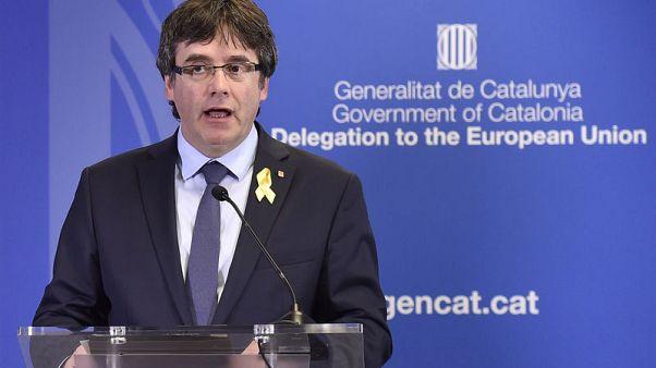 زعيم قطالونيا السابق يعود إلى بلجيكا بعد فشل محاولة ترحيله