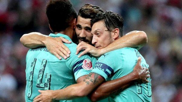 ICC, Arsenal-Psg 5-1
