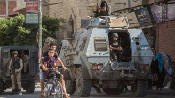 Dans une ville du Sinaï, la vie reprend malgré la guerre antijihadistes