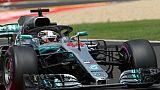 GP de Hongrie: Hamilton (Mercedes) en pole sous la pluie