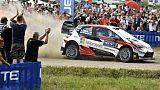 Rallye de Finlande: Tänak solidement en tête, Ogier et Neuville 7e et 10e
