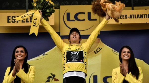 """Tour de France: """"L'Alpe d'Huez restera le moment le plus incroyable"""" pour Geraint Thomas"""