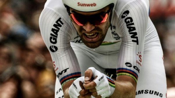 """Tour de France: Dumoulin a """"pris le Tour comme il venait"""""""