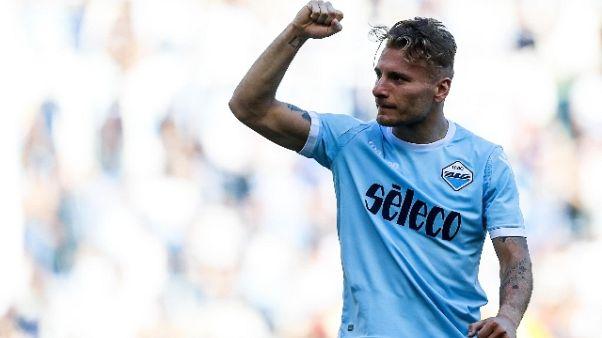 Lazio chiude ritiro con 3-0 alla Spal