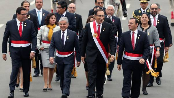 Peru president proposes referendum on political, judicial reform