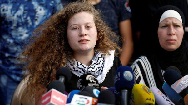 الفلسطينية عهد التميمي تقول إنها ستواصل النضال ضد الاحتلال كمحامية