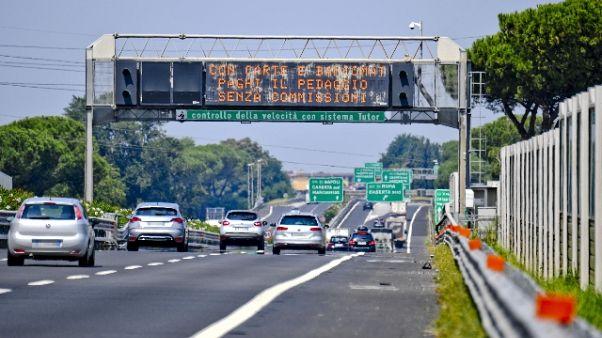 Esodo: traffico scorrevole finora